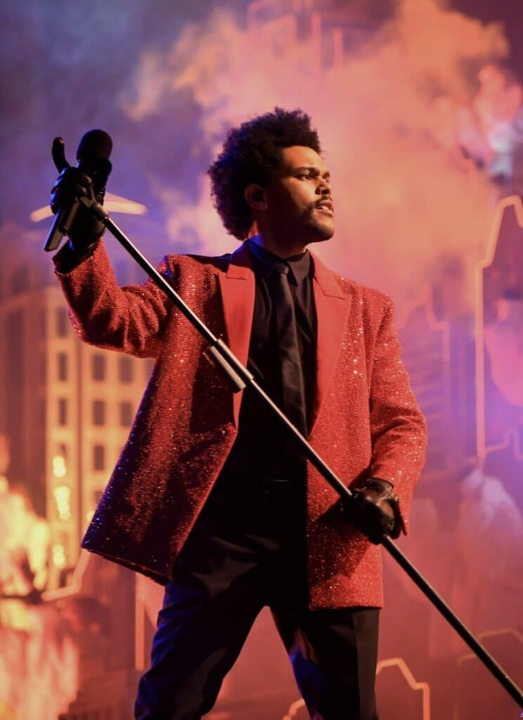 The Weeknd Super Bowl show 2