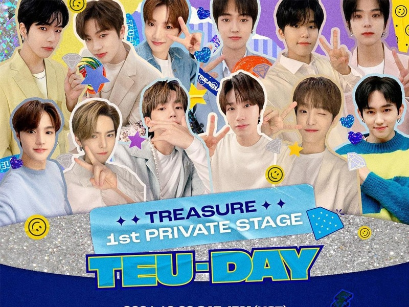 """TREASURE Invites Fans To First Fan Meeting """"TEU-DAY"""""""